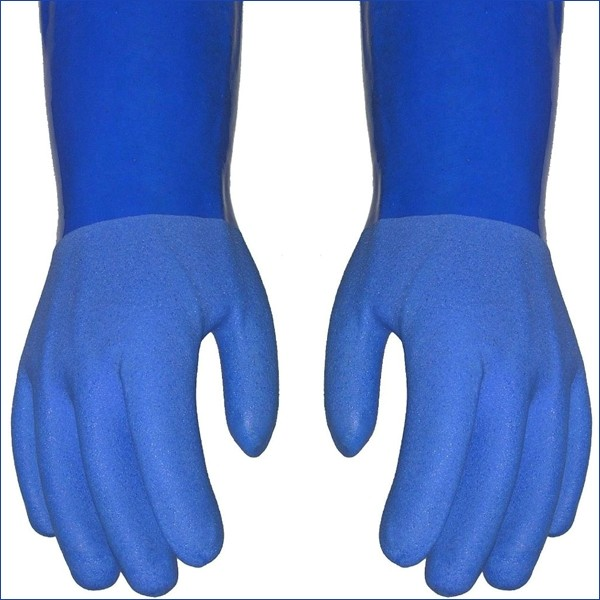 True Blue Heavy Duty Rubber Gloves Large Thumbnail